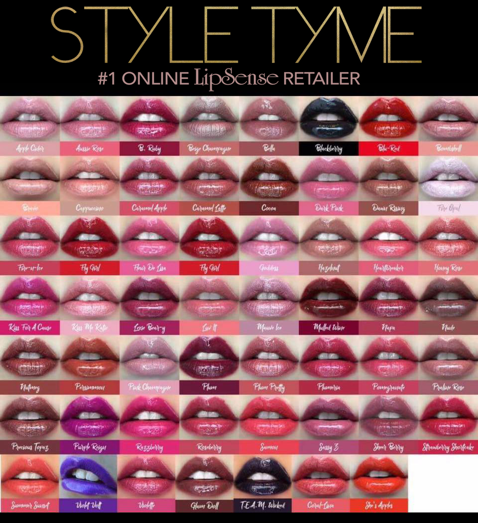 Below We Have Mentioned Some Of The Tips That Will Help You With Purchase Lipsense Color Chart All To Do Is Follow These Points In Order